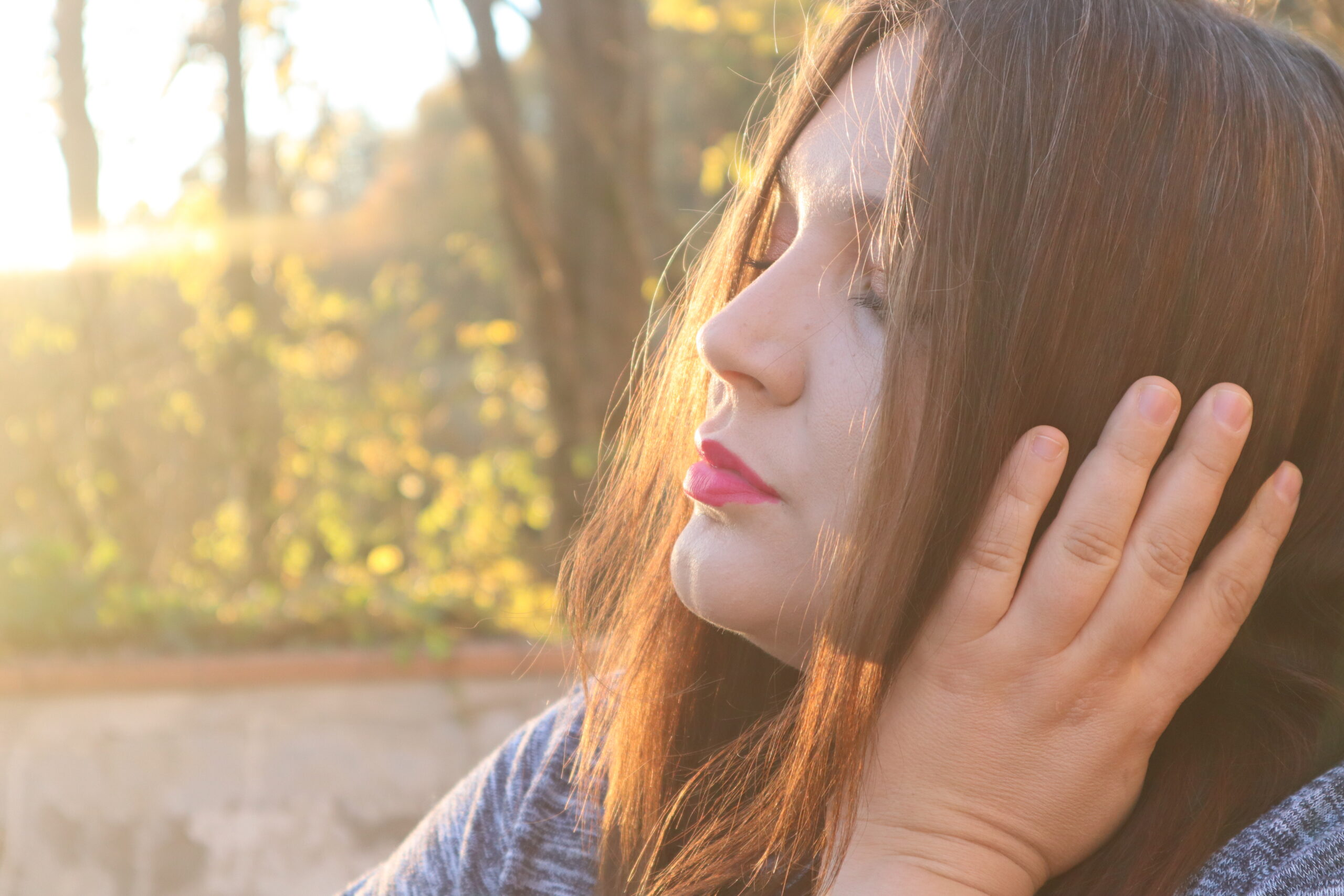Foto personale che indica il senso di risveglio dopo un periodo di riflessione.